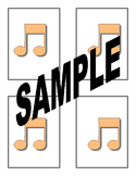 Printable Color Music Memory Match Game Cards