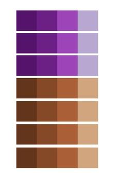 Printable Color Palettes