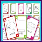 Printable & Color-able Alphabets For Kindergarten, 1st Gra