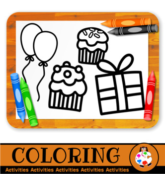 Printable Coloring Sheet Activities