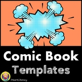 Comic Book and Graphic Novel Page Templates