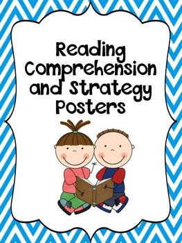 Printable Common Core Reading Strategy Posters