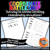 Printable Coordinate Battleship