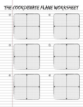 graphic regarding Coordinate Planes Printable identified as Printable Coordinate Aircraft Laptop computer Paper - Graphing Paper - Math