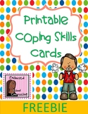 Printable Coping Skills Cards