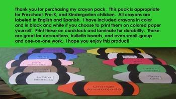 Printable Crayons