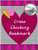 Printable Cross-Checking Bookmark