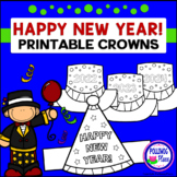 Printable Crowns - Happy New Year