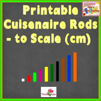 Printable Cuisenaire Rods with Bonus Clipart