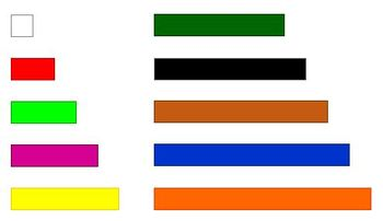 picture about Cuisenaire Rods Printable referred to as Printable Cuisenaire Rods with Reward Clipart