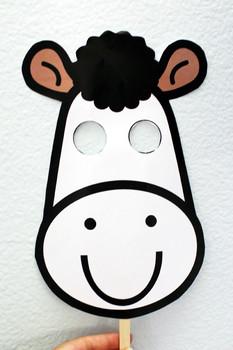 Printable DIY Animal Masks