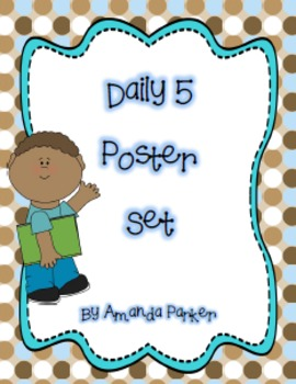photograph relating to Give Me Five Poster Printable Free known as Printable Day-to-day 5 Poster Established
