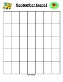 Printable Daily Math Calendar