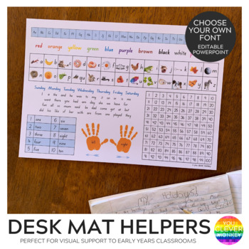 Printable Desk Mats