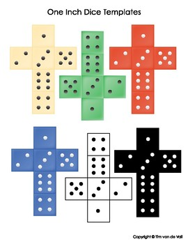 photograph about Printable Dice Template identified as Printable Cube Templates - Create Your Private 6, 10, 12-Sided Cube