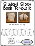 Printable & Digital Student Story Book Template