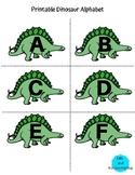 Printable Dinosaur Alphabet for Preschoolers