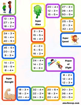 Printable Division Games & Worksheets | Teachers Pay Teachers