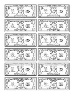 Printable Dollars