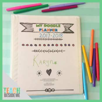 Printable Doodle Planner