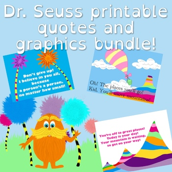 graphic about Printable Dr Seuss Quotes identified as Printable Dr. Seuss Prices and graphics