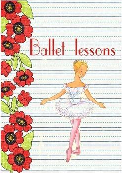 Printable ESL Book: Ballet Lessons (5th-6th grade)