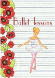 Printable ESL Book: Ballet Lessons (5th-6th grade)