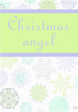 Printable ESL Book: Christmas Angel (5th-6th grade)