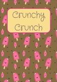 Printable ESL Book: Crunchy Crunch (K-1st-2nd grade students)
