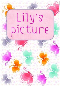 Printable ESL Book: Lily's Picture (1st-2nd grade)