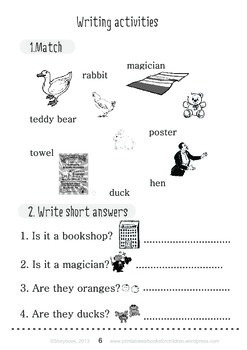 Printable ESL Book: Mr Magic (1st-2nd grade)