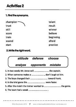 Printable ESL Book: The New Season (5th-6th grade)