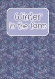 Printable ESL Book: Winter In The Farm (3rd-4th grade kids)