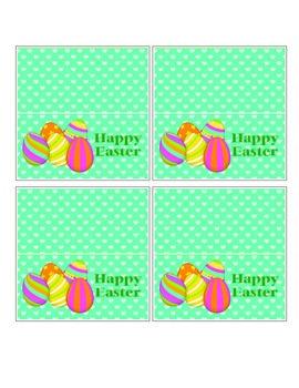 Printable Easter TreatBag Topper