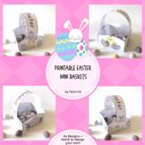 Printable Easter Baskets