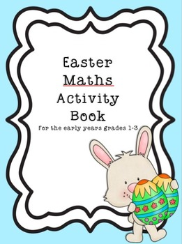 Printable Easter Bundle Literacy, Maths Activity Books plus Cards