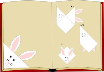 Printable Easter Bunny Bookmarks