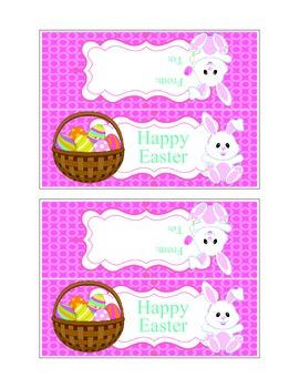 Printable Easter Treat Bag Topper