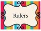 Printable/ Editable Classroom Labels