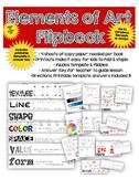 Printable Elements of Art FlipBook & FREE EDITABLE POWERPOINT