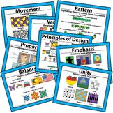 Printable Principles of Design Art Classroom Visuals Poste