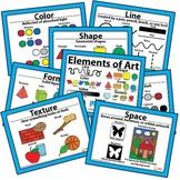 Elements of Art, Principles of Design, Artwork Checklist P