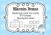 Printable Elkonin Boxes & Recording Sheet