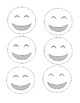 Printable Emotion Faces for Foreign Language   Practice, Games, Assessment