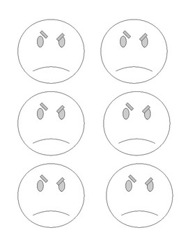 graphic about Printable Emotion Faces known as Printable Experience Faces for Overseas Language Teach, Video games, Examination