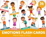 Printable Emotions Flash Cards Emotions Flashcards How do