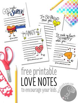 Printable Encouragement Notes