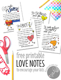 Printable Encouragement Notes
