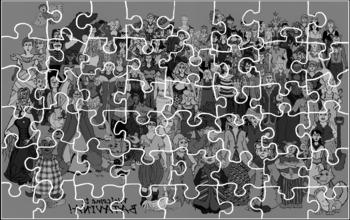 Printable Fairy-Tale Jigsaw Puzzle!