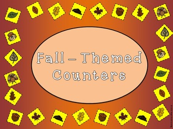 Printable Fall Counters